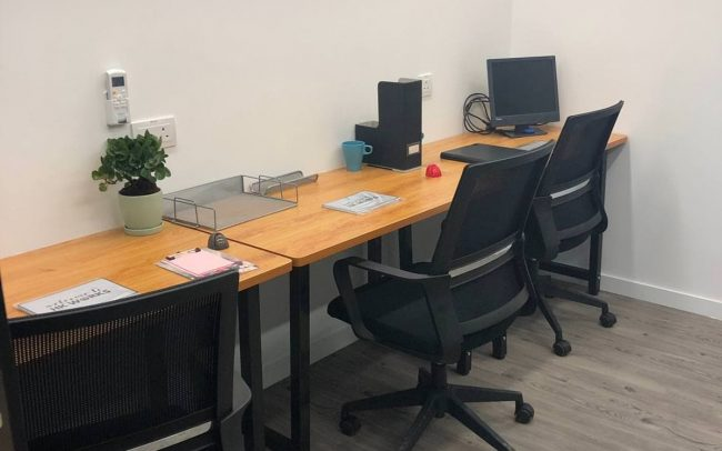HK Works 3-person internal office